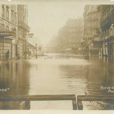 Rue de la Pépinière et Place du Hâvre