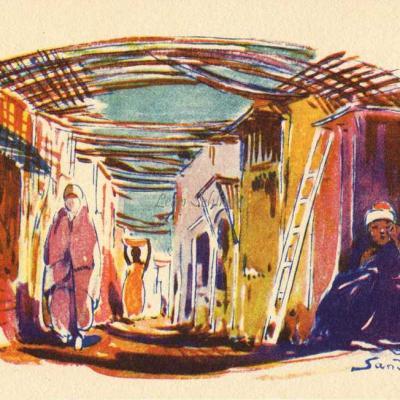 Rue de lma Casbah