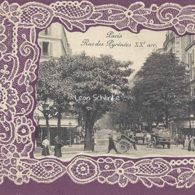 Rue des Pyrénées XX° arr.