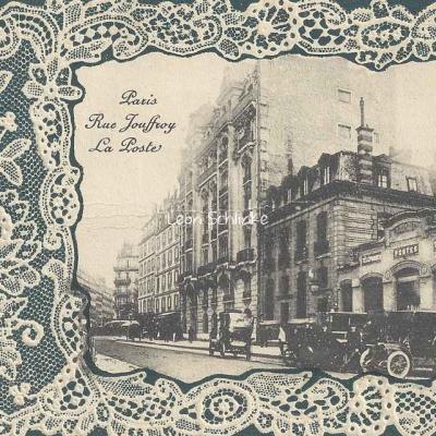 Rue Jouffroy - La poste