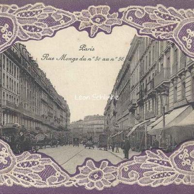 Rue Monge du n°30 au n°56