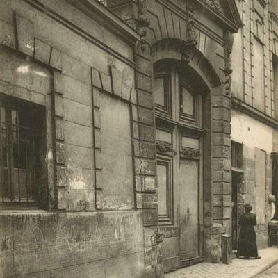 Rue Saint-Julien-le-Pauvre, 14