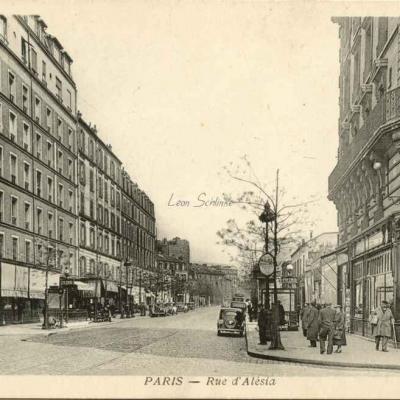 Sans éditeur - Rue d'Alésia