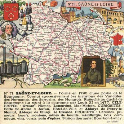 71 - Saône et Loire