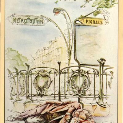 Scènes et Architecture de Paris 2627 - Métro Pigalle