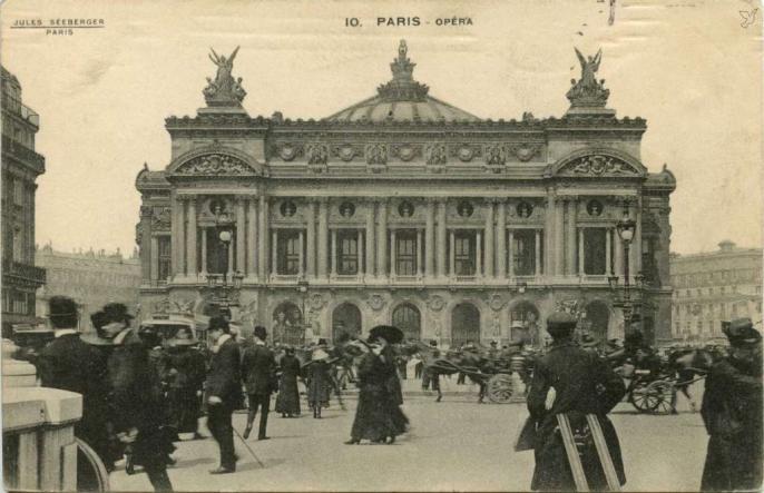 Jules Seeberger 10 - Opéra