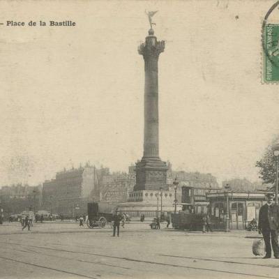 Jules Séeberger - PARIS - Place de la Bastille