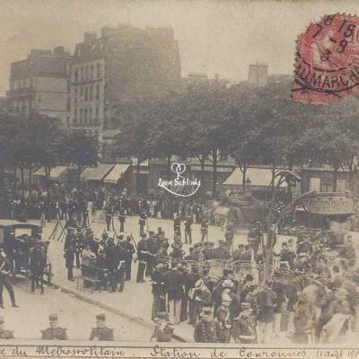Société Lumière - Catastrophe 1903