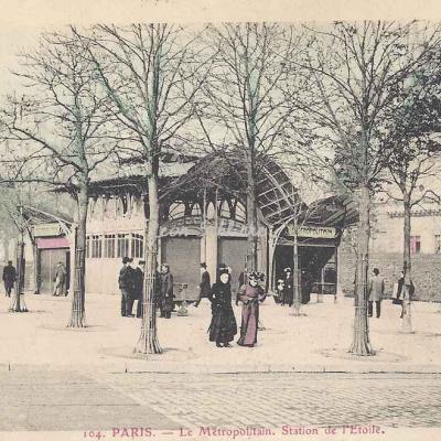 Solyphot 104 - Le Métropolitain, Station de l'Etoile
