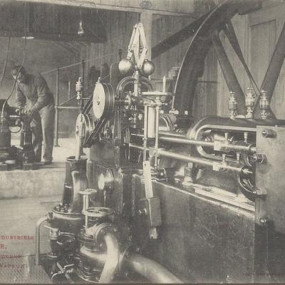 soule 4 machine vapeur