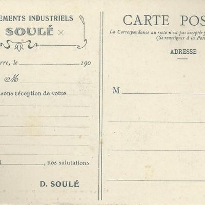 soule accuse reception