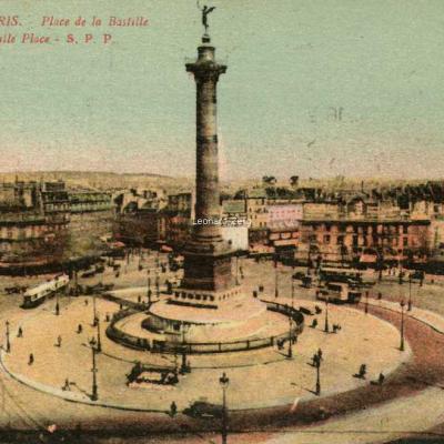 SPP 33 - PARIS - Place de la Bastille