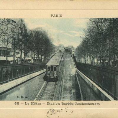 SRA 66 - Le Métro - Station Barbès-Rochechouart