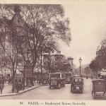 Inconnu 34 (idem LL) - Boulevard Bonne-Nouvelle