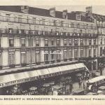 Ss édit - Grands Hôtels Brébant et Beauséjour, 30-32, Bd Poissonnière
