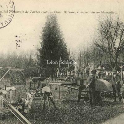 Stand Barrarc, constructeur au Marcadieu (Ed.Lacaze)
