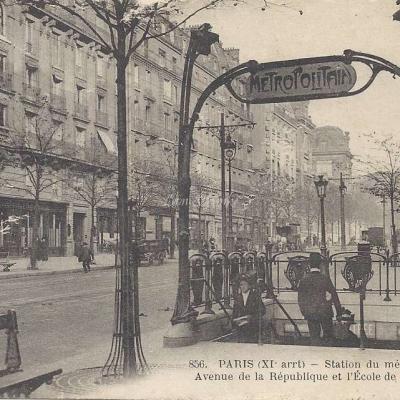 FF 856 - Station du Metro St-Maur - Avenue de la Republique