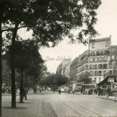 Studio MAUD - PARIS XX° - Boulevard de la Villette · Rue de Belleville