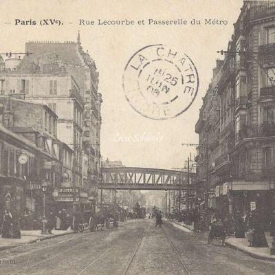 Supernant 11 - Rue Lecourbe et Passerelle du Metro
