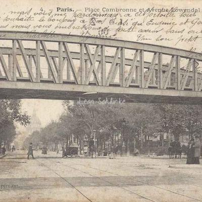 Supernant 4 - Place Cambronne et Avenue Lowendal