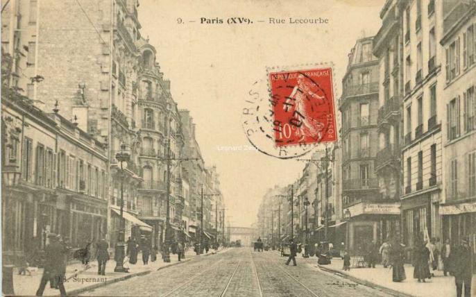 Supernant 9 - Paris (XV°) - Rue Lecourbe