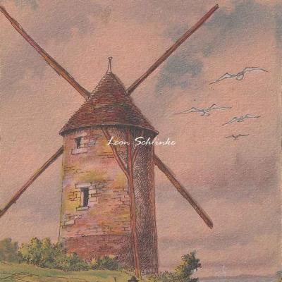 2914 - Nos Vieux Moulins à vent
