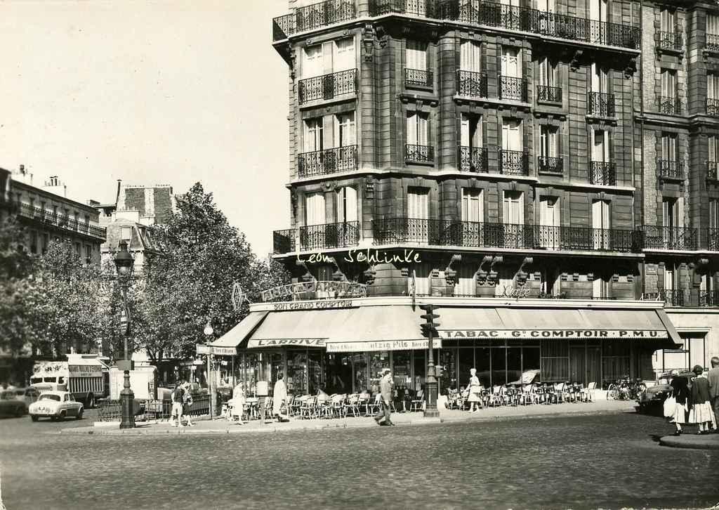 Montparnasse bienven e for Garage avenue du maine
