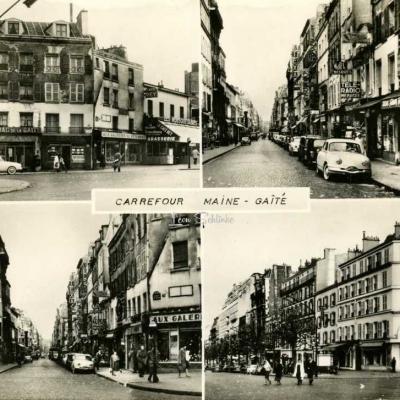 Tabac de la Gaité - PARIS (XIV) Carrefour Maine-Gaité