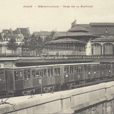 Taride - Metropolitain - Gare de la Bastille