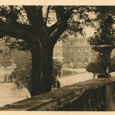 Terrasses et Palais du Luxembourg