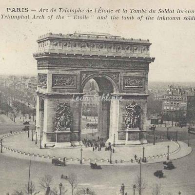 TMK - Arc de Triomphe de l'Etoile, Soldat inconnu