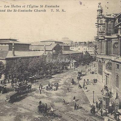 TMK - Les Halles et l'Eglise St-Eustache