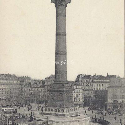 TMK - Place de la Bastille, Colonne de Juillet