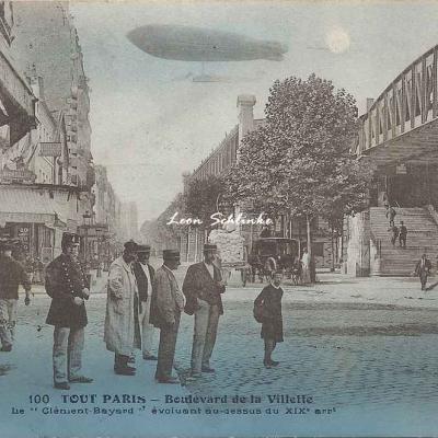 Tout Paris 100 - Boulevard de la Villette avec le Clément Bayard
