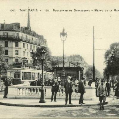 Tout Paris 1007-168 - Bd de Strasbourg - Métro de la Gare de l'Est