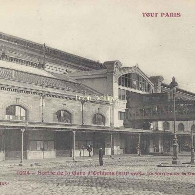 Tout Paris 1024 - Sortie de la Gare d'Orléans - Le Ventre de la Gare