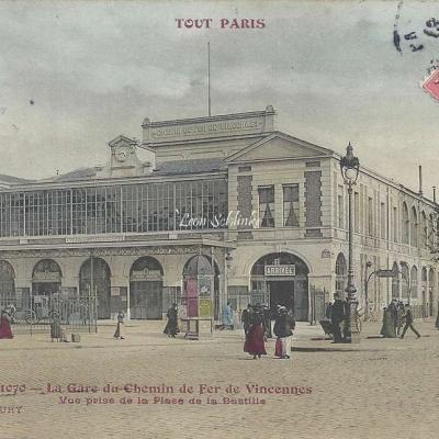 Tout Paris 1070 - La Gare du Chemin de Fer de Vincennes