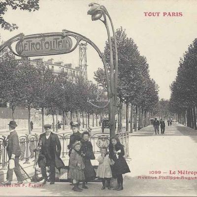 Tout Paris 1099 - Le Métropolitain Avenue Philippe-Auguste