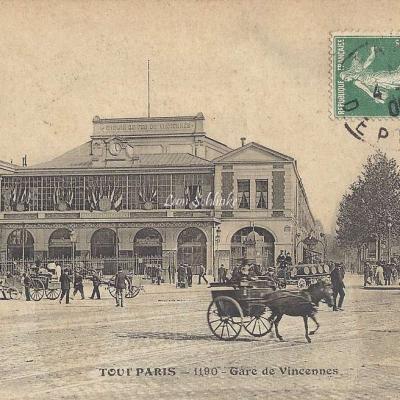 Tout Paris 1190 - Gare de Vincennes