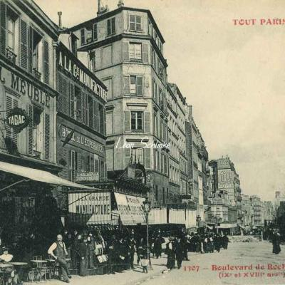 Tout Paris 1307 - Boulevard de Rochechouart