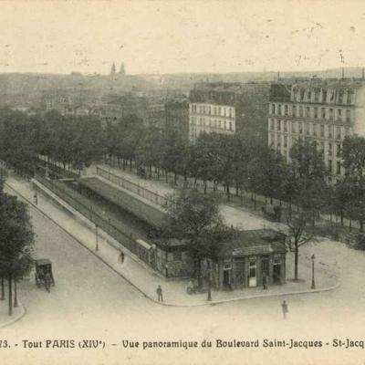 Tout Paris 1473 - Vue panoramique du Bd St-Jacques