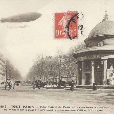 Tout Paris 1519 - Boulevard de Courcelles au Parc Monceau