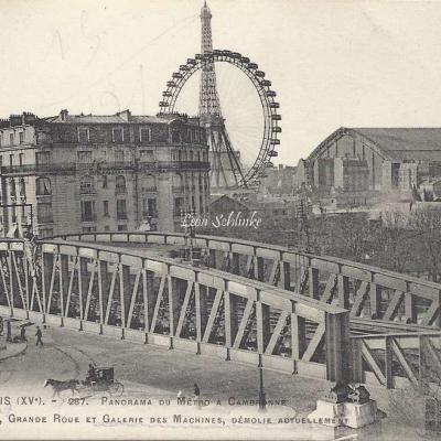 Tout Paris 1533 - Panorama du Metro à Cambronne