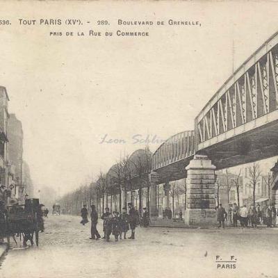 Tout Paris 1536 - Boulevard de Grenelle à la rue du Commerce
