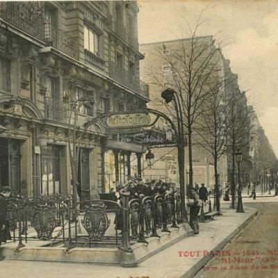 Tout Paris 1541 - Station du Métro ''St-Maur''