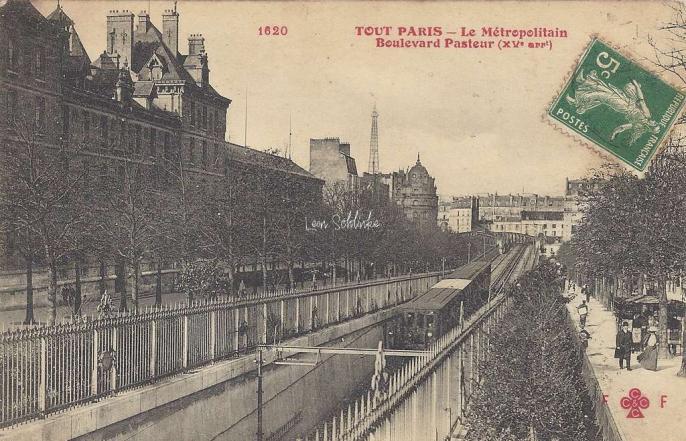 Tout Paris 1620 - Le Metropolitain, Boulevad Pasteur