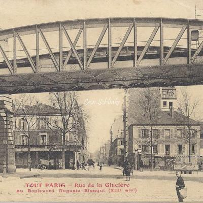 Tout Paris 1798 - Rue de la Glaciere au Bd Auguste Blanqui