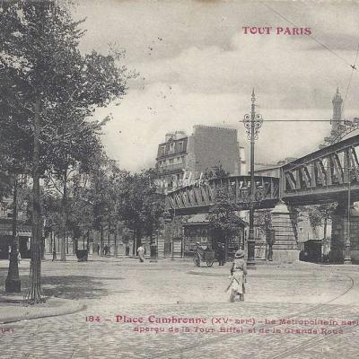 Tout Paris 184 - Place Cambronne