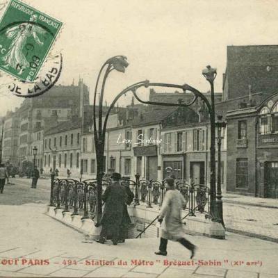 Tout Paris 494 - Station du Métro ''Bréguet-Sabin''