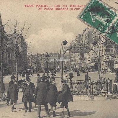 Tout Paris 506bis - Boulevard de Clichy et Place Blanche